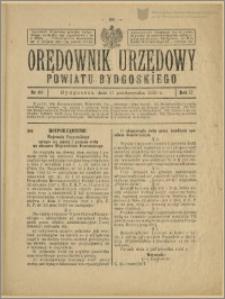Orędownik Urzędowy Powiatu Bydgoskiego, 1928, nr 44