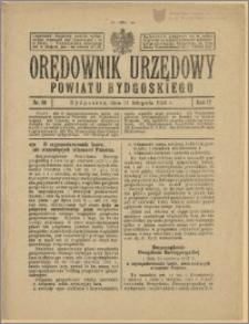 Orędownik Urzędowy Powiatu Bydgoskiego, 1928, nr 49