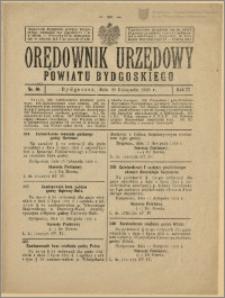 Orędownik Urzędowy Powiatu Bydgoskiego, 1928, nr 50