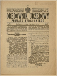 Orędownik Urzędowy Powiatu Bydgoskiego, 1928, nr 53