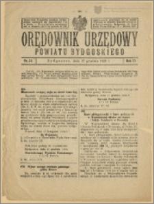 Orędownik Urzędowy Powiatu Bydgoskiego, 1928, nr 54