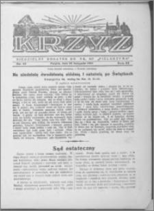 Krzyż, R. 66 (1934), nr 47