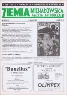 Ziemia Michałowska : Gazeta Brodnicka R. 1997, Nr 6 (161)