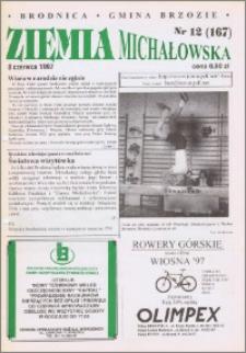 Ziemia Michałowska : Gazeta Brodnicka R. 1997, Nr 12 (167)