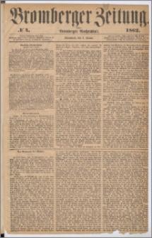 Bromberger Zeitung, 1862, nr 4