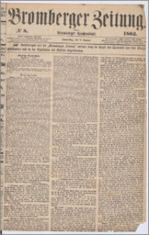 Bromberger Zeitung, 1862, nr 8