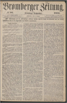 Bromberger Zeitung, 1862, nr 10