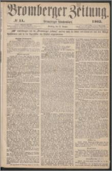 Bromberger Zeitung, 1862, nr 11