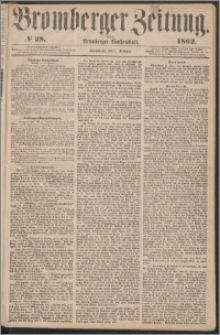 Bromberger Zeitung, 1862, nr 28