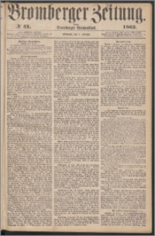 Bromberger Zeitung, 1862, nr 31