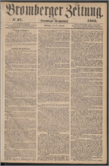 Bromberger Zeitung, 1862, nr 37
