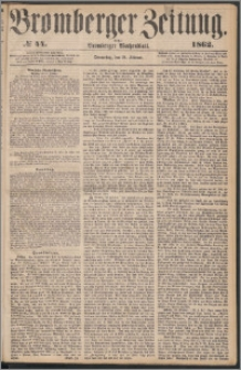 Bromberger Zeitung, 1862, nr 44