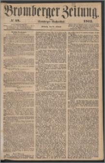 Bromberger Zeitung, 1862, nr 49