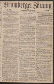 Bromberger Zeitung, 1862, nr 58