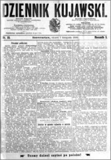 Dziennik Kujawski 1893.11.07 R.1 nr 31