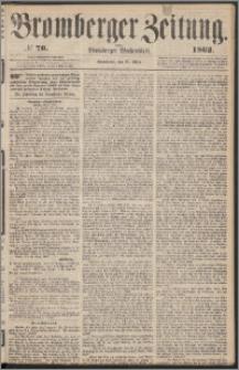 Bromberger Zeitung, 1862, nr 70