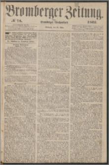 Bromberger Zeitung, 1862, nr 73
