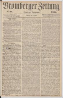 Bromberger Zeitung, 1862, nr 89