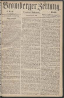 Bromberger Zeitung, 1862, nr 119