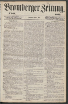 Bromberger Zeitung, 1862, nr 164