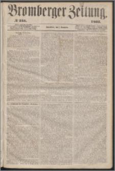Bromberger Zeitung, 1862, nr 256