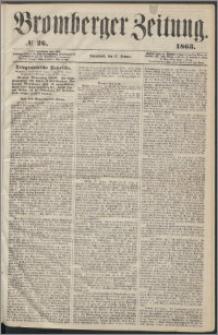 Bromberger Zeitung, 1863, nr 26