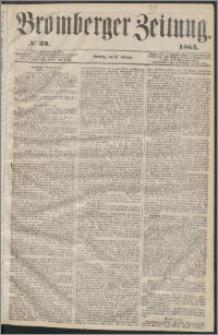 Bromberger Zeitung, 1863, nr 39