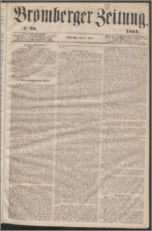 Bromberger Zeitung, 1863, nr 88