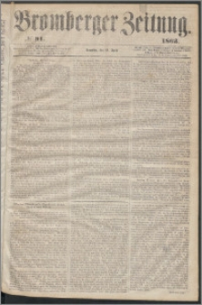 Bromberger Zeitung, 1863, nr 91