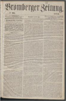Bromberger Zeitung, 1863, nr 96