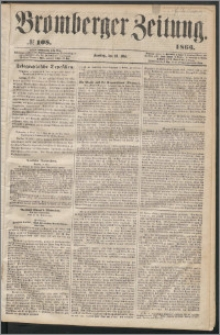 Bromberger Zeitung, 1863, nr 108