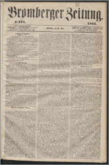Bromberger Zeitung, 1863, nr 115