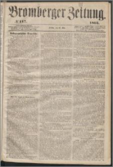Bromberger Zeitung, 1863, nr 117