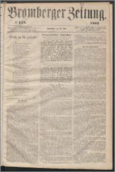 Bromberger Zeitung, 1863, nr 118