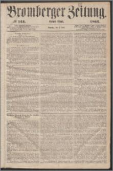 Bromberger Zeitung, 1863, nr 154