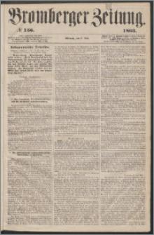Bromberger Zeitung, 1863, nr 156