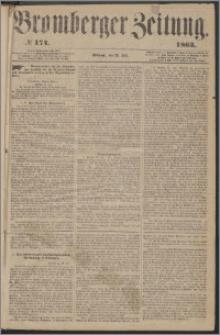 Bromberger Zeitung, 1863, nr 174