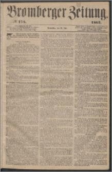 Bromberger Zeitung, 1863, nr 175