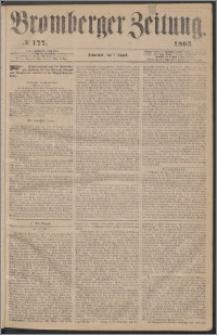 Bromberger Zeitung, 1863, nr 177