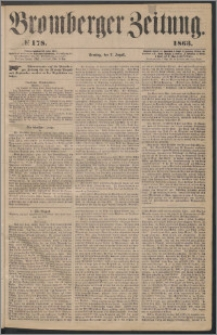 Bromberger Zeitung, 1863, nr 178