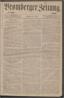 Bromberger Zeitung, 1863, nr 183