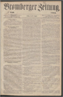 Bromberger Zeitung, 1863, nr 188