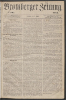 Bromberger Zeitung, 1863, nr 192