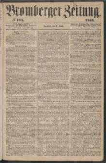 Bromberger Zeitung, 1863, nr 195