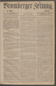 Bromberger Zeitung, 1863, nr 200