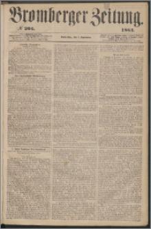 Bromberger Zeitung, 1863, nr 205