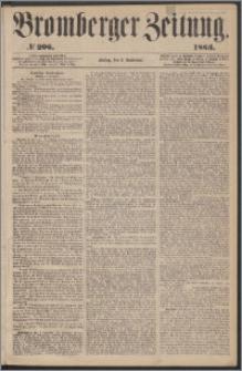 Bromberger Zeitung, 1863, nr 206