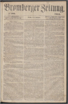 Bromberger Zeitung, 1863, nr 209