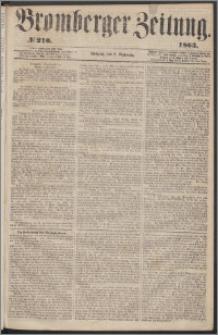 Bromberger Zeitung, 1863, nr 210