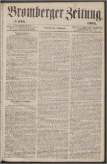 Bromberger Zeitung, 1863, nr 213